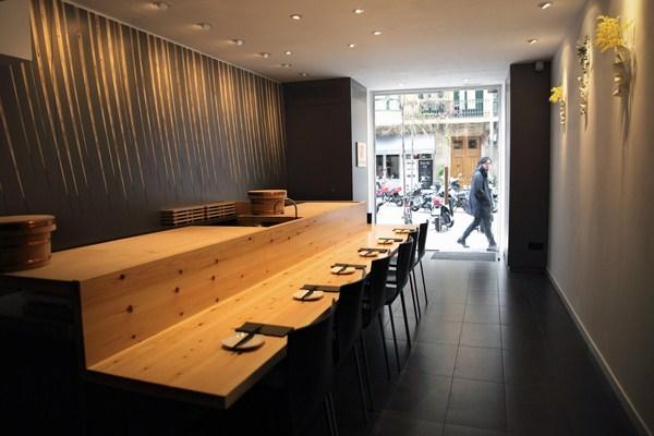 Futami kobfuji architects combine the seto and - Restaurante tokyo barcelona ...